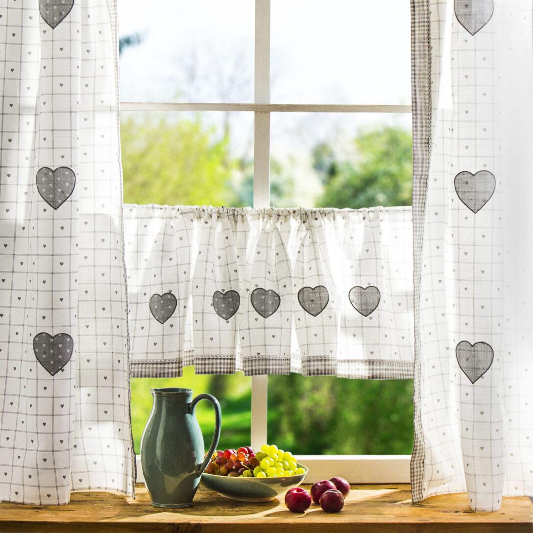Large Size of Küchenvorhang Fenstervorhnge Mehr Als 200 Angebote Wohnzimmer Küchenvorhang