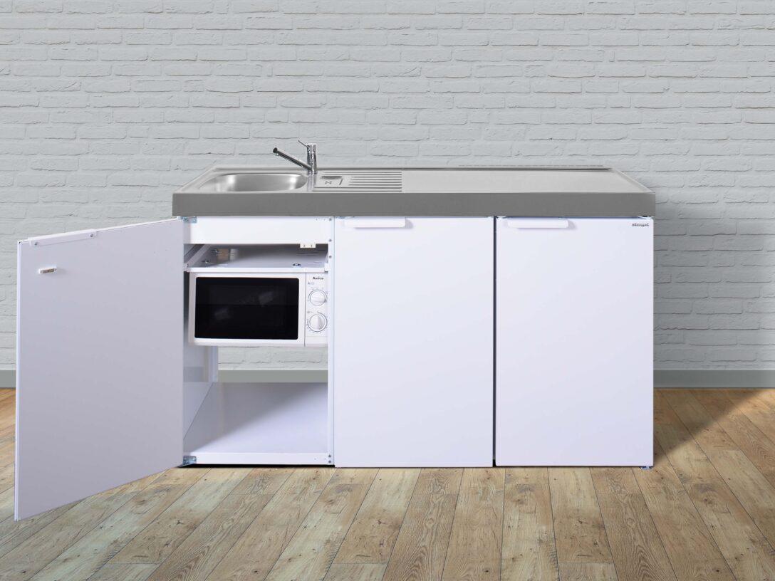 Large Size of Stengel Minikche Mkm 150 Mit Sple Rechts Und Ohne Kochfeld Hai End Wohnzimmer Miniküchen