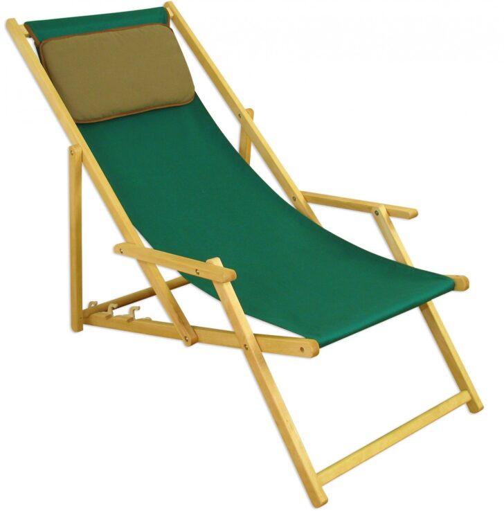 Liegestuhl Wetterfest Balkon Garten Klappbar Auflage Holz Gartenliege Grn Sonnenliege Kissen Strandliege Wohnzimmer Liegestuhl Wetterfest