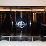 Art Deco Bar 6 Hockern Klavierlack B250xh125xt75 Cyk Küche Kaufen Tipps Esstisch Ausziehbar Massiv Gebrauchte Betten 140x200 Bad Barrierefrei Sofa Online Rund Wohnzimmer Bar Kaufen