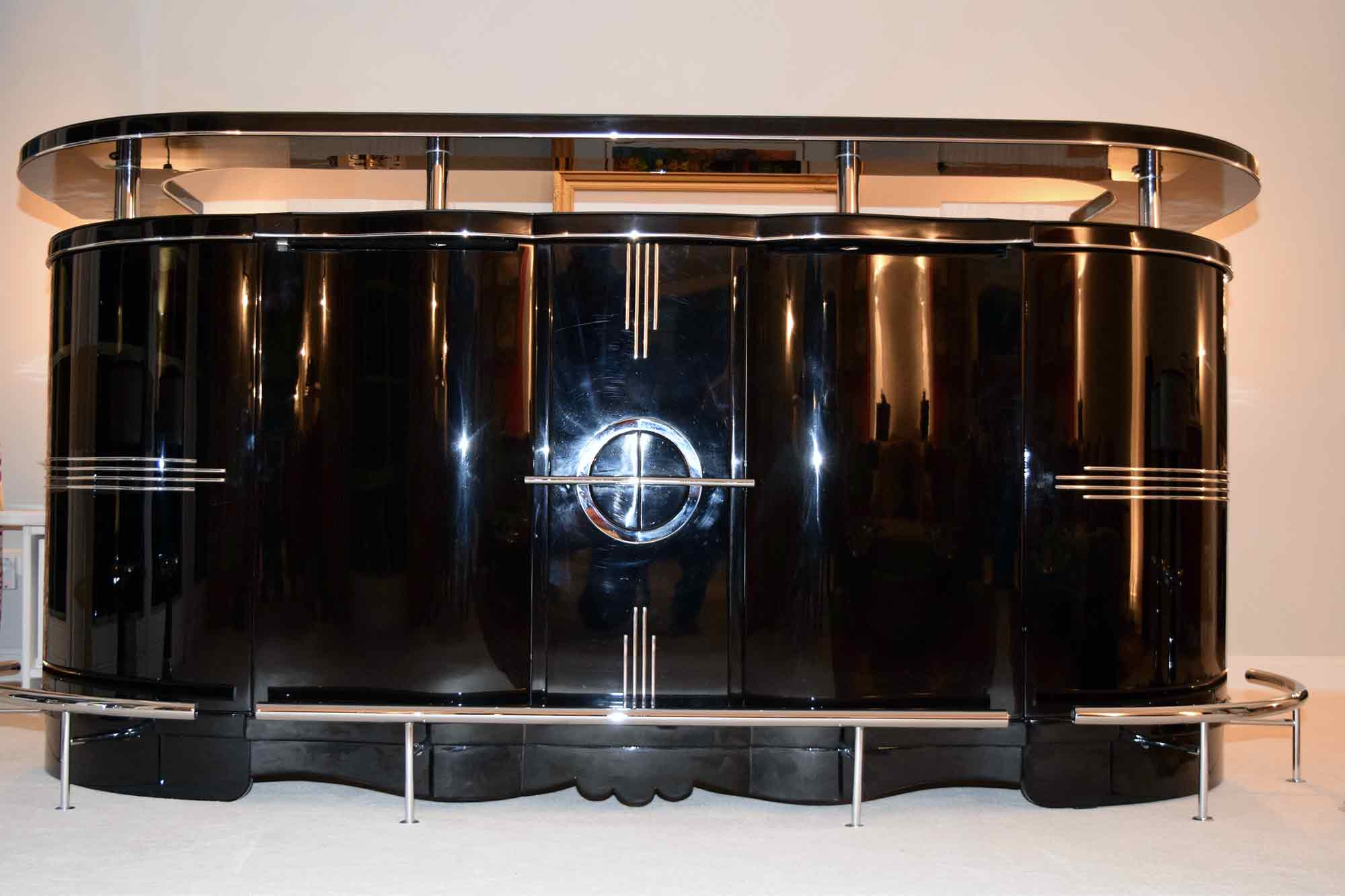 Full Size of Art Deco Bar 6 Hockern Klavierlack B250xh125xt75 Cyk Küche Kaufen Tipps Esstisch Ausziehbar Massiv Gebrauchte Betten 140x200 Bad Barrierefrei Sofa Online Rund Wohnzimmer Bar Kaufen