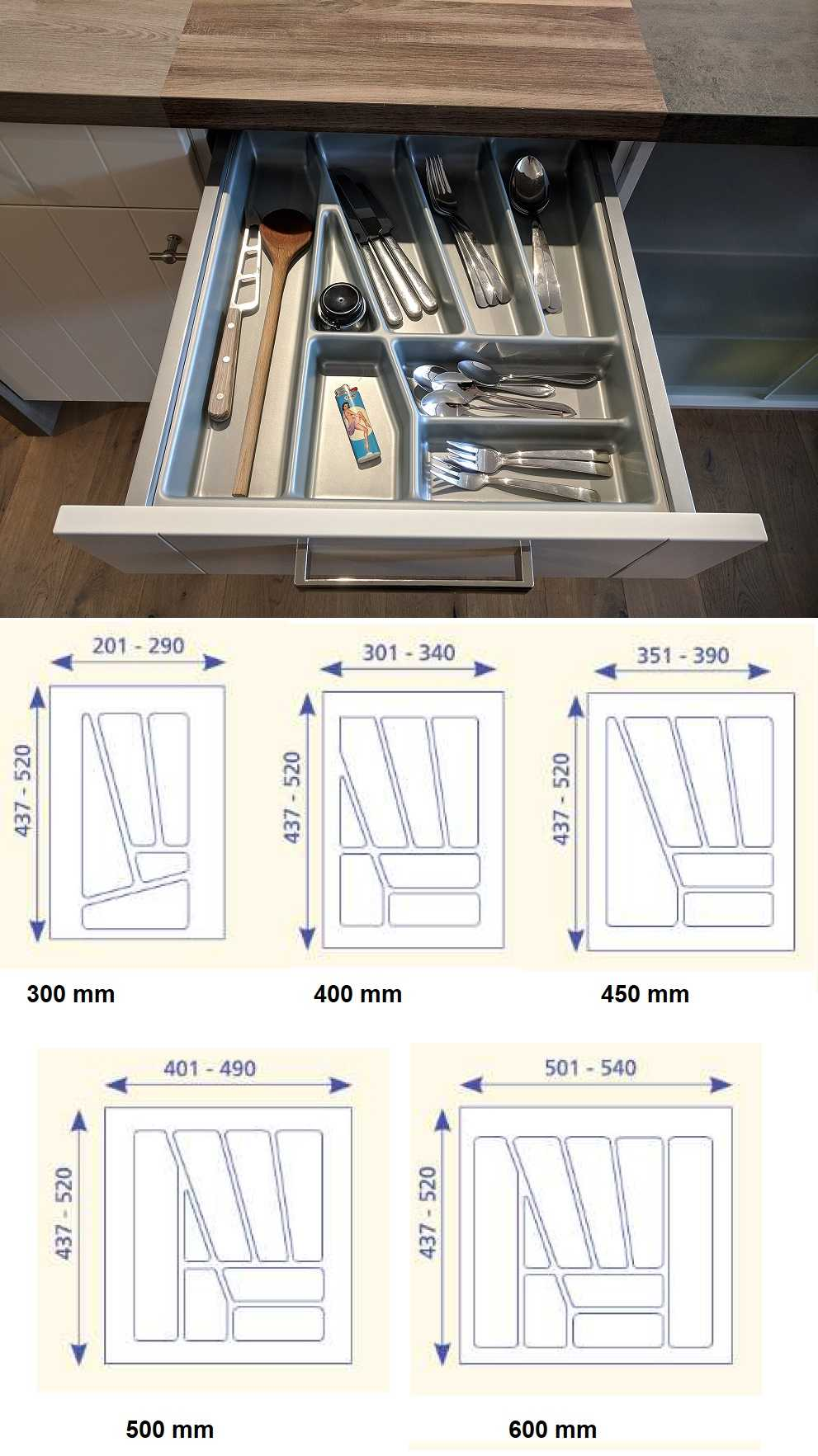 Full Size of Nobilia Besteckeinsatz Kunststoff Zubehr Artikel Einbauküche Küche Wohnzimmer Nobilia Besteckeinsatz