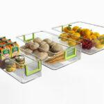 Küchen Aufbewahrungsbehälter 3er Set Kchen Khlschrank Boaufbewahrungsbehlter Regal Küche Wohnzimmer Küchen Aufbewahrungsbehälter