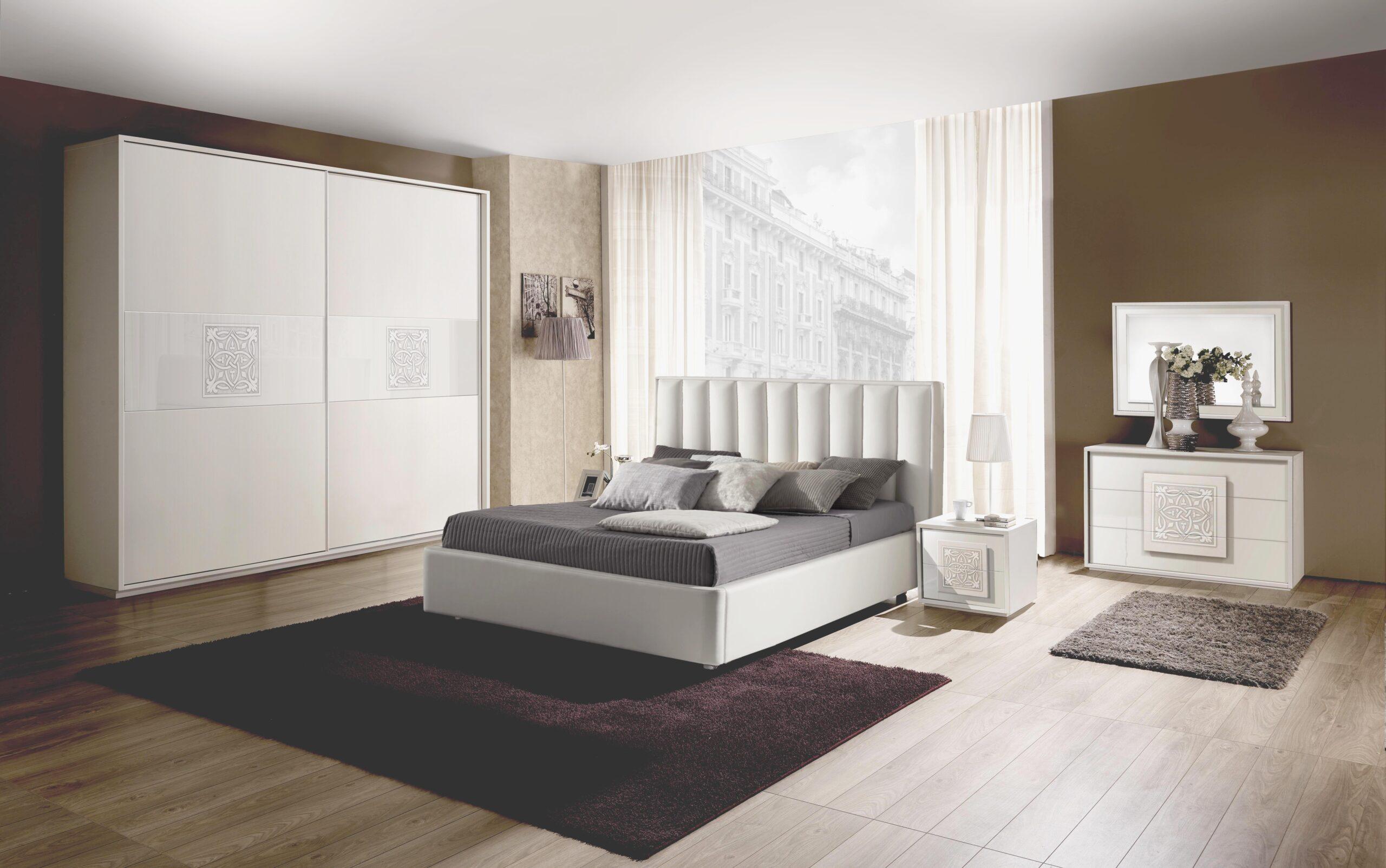 Full Size of Ausgefallene Schlafzimmer Set Dama In Wei Modern Design 160x200 Cm Mit Wandtattoo Komplett Günstig Led Deckenleuchte Schimmel Im Deckenlampe Sitzbank Wohnzimmer Ausgefallene Schlafzimmer