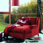 Rotes Ambiente Mit Samt Rcamire Wohnzimmer Sesse Sofa Recamiere Wohnzimmer Recamiere Samt