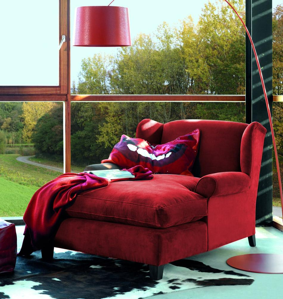 Full Size of Rotes Ambiente Mit Samt Rcamire Wohnzimmer Sesse Sofa Recamiere Wohnzimmer Recamiere Samt