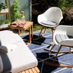 Unser Zweites Wohnzimmer Im Grnen Mit Tchibo Terrassenupdate Wohnzimmer Gartensofa Tchibo