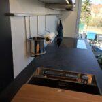 Küche Zweifarbig Moderne Kche Einbauküche Kaufen Mit E Geräten Ohne Oberschränke Günstig Doppelblock Aufbewahrungssystem Auf Raten Kühlschrank Wohnzimmer Küche Zweifarbig