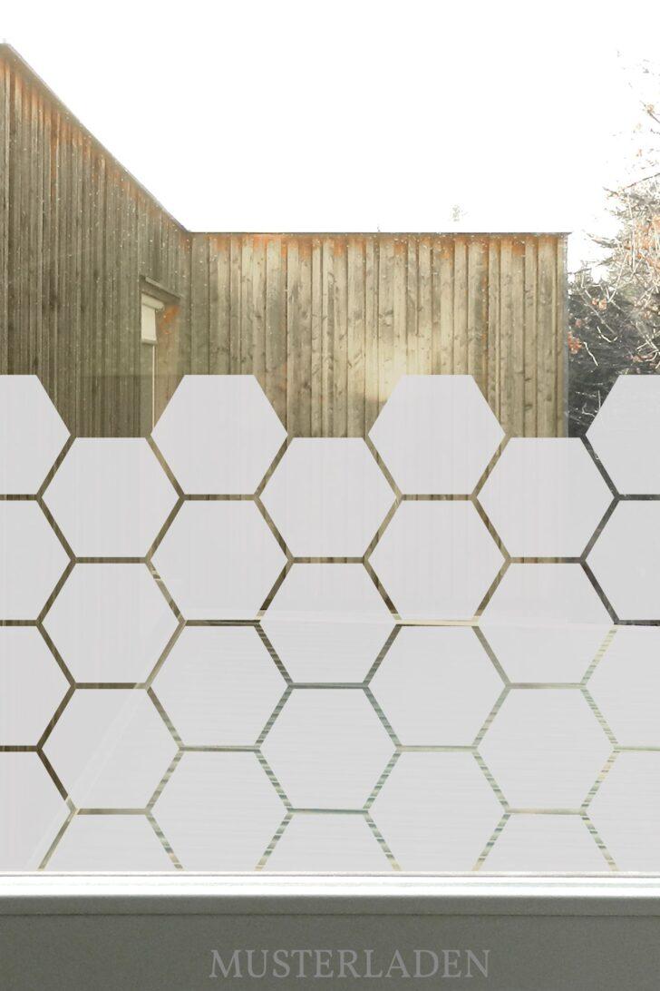 Medium Size of Glasdekorfolien Mit Bienenwaben Motiv Musterladen Blickdichte Wohnzimmer Fensterfolie Blickdicht