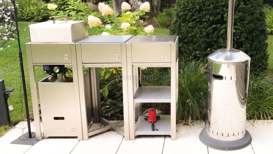 Large Size of Mobile Outdoorküche Oneq Outdoorkche Konfigurieren Küche Wohnzimmer Mobile Outdoorküche