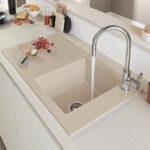 Splen Materialien Keramik Waschbecken Küche Wohnzimmer Spülstein Keramik