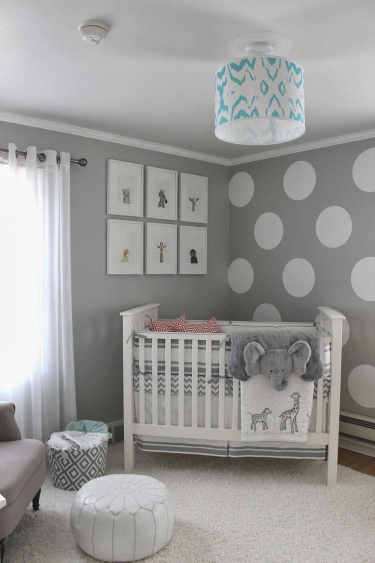 Full Size of Wandgestaltung Kinderzimmer Jungen Babyzimmer In Grau Und Wei Gestalten Geschlechtsneutral Regal Weiß Regale Sofa Wohnzimmer Wandgestaltung Kinderzimmer Jungen