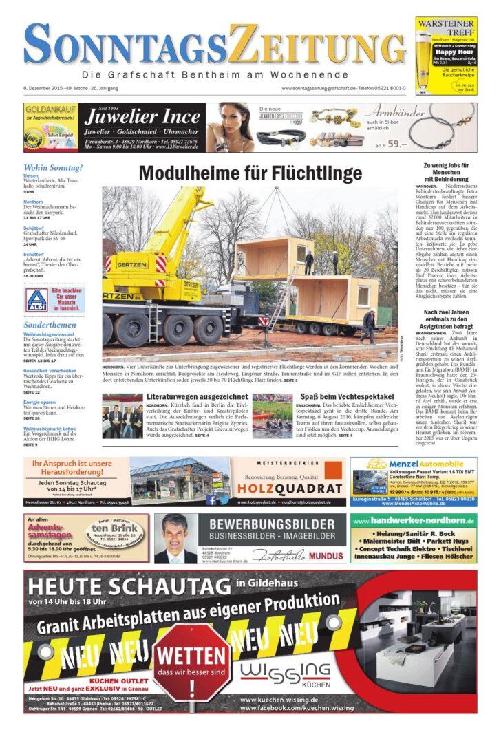 Medium Size of Sonntagszeitung 06122015 By Relaxsessel Garten Aldi Wohnzimmer Küchenläufer Aldi
