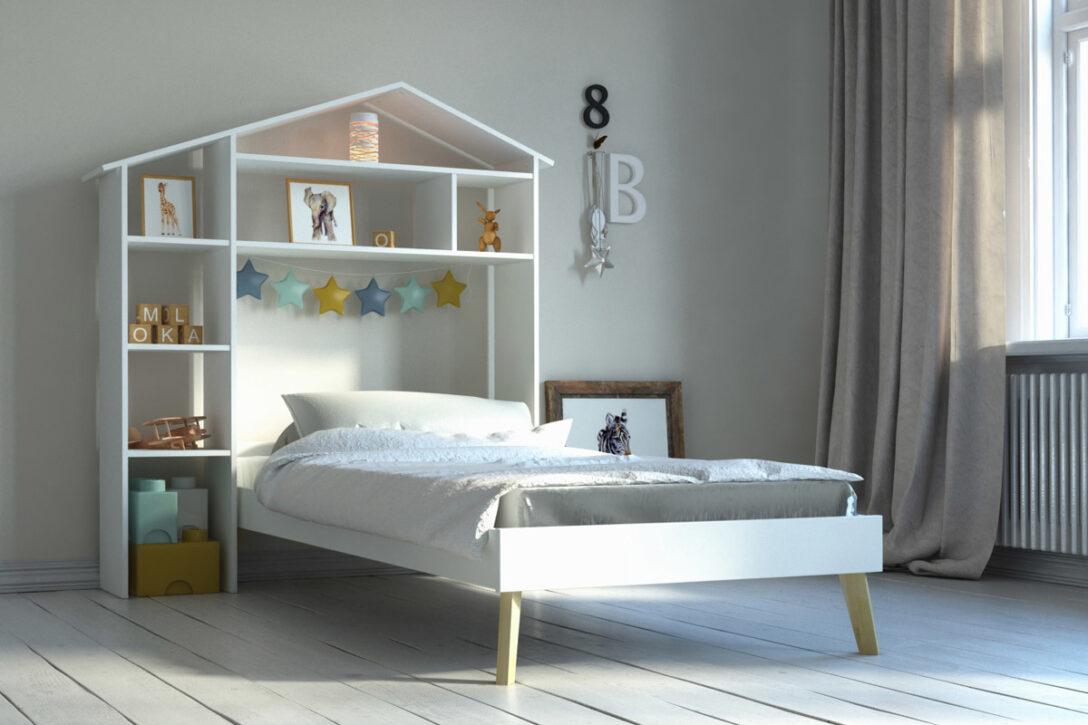 Large Size of Kinderbett Stauraum Und Kopfteil Mit Home Miliboo Bett 140x200 160x200 200x200 Betten Wohnzimmer Kinderbett Stauraum