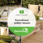Außensauna Wandaufbau Saunahaus Selber Bauen Anleitung Fr Sauna Im Garten Youtube Wohnzimmer Außensauna Wandaufbau