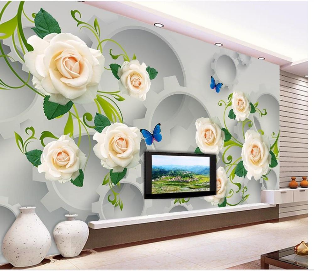 Full Size of Wohnzimmer Individuelle Fototapeten 3d Stereoskopischen Gear Wei Rose Landhausstil Lampen Hängeleuchte Fürs Tisch Led Lampe Schrankwand Komplett Wohnzimmer Wohnzimmer Wandbilder