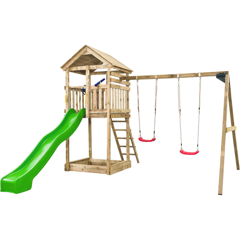 Full Size of Spielturm Obi Swingking Daan 420 Cm 400 320 Kaufen Bei Nobilia Küche Fenster Regale Kinderspielturm Garten Immobilienmakler Baden Immobilien Bad Homburg Wohnzimmer Spielturm Obi