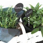Kräutertöpfe Geschenk Idee Krutertpfchen Hbsch Verpackt In Wohnzimmer Kräutertöpfe