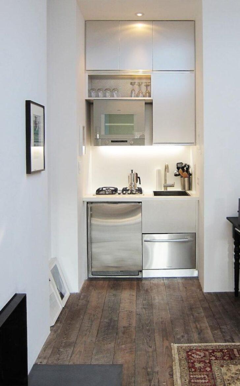 Medium Size of Kleines Zimmer Einrichten 38 Kreative Platzschaffende Ideen Mit Miniküche Kühlschrank Bad Renovieren Wohnzimmer Tapeten Stengel Ikea Wohnzimmer Miniküche Ideen
