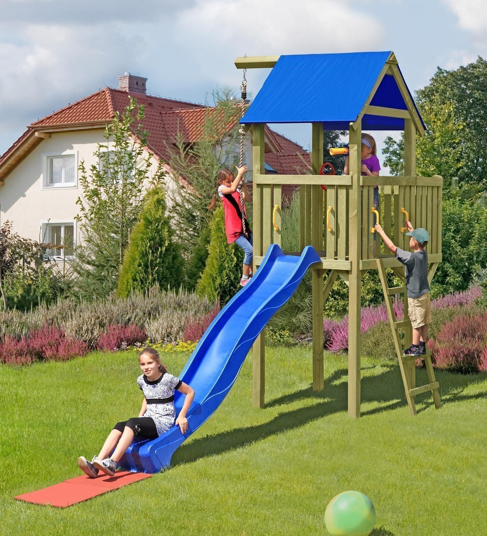 Full Size of Spielturm Bauhaus Spielanlage Little Chief Multi Play Mit Rutsche Bei Kinderspielturm Garten Fenster Wohnzimmer Spielturm Bauhaus