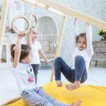 Kidwood Klettergerüst Klettergerst Rakete Sport Set Aus Holz 6 Teilig Garten Wohnzimmer Kidwood Klettergerüst