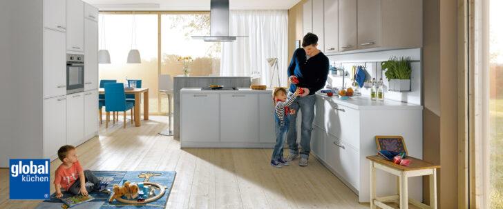 Küche Zweifarbig Einbaukchen Von Global Kchenstudio Lneburg Wasserhahn Wandanschluss Kleine Einrichten Planen Sideboard Mit Arbeitsplatte Grillplatte Bauen Wohnzimmer Küche Zweifarbig