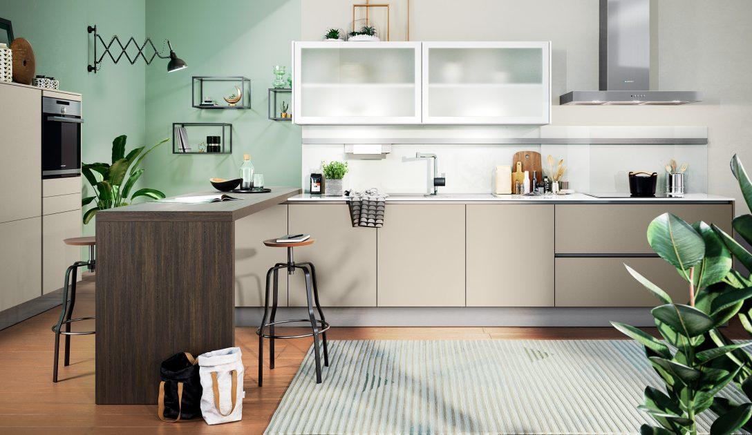 Large Size of Moderne Einbaukche Classica 1240 Kaschmir Kchenquelle Küchen Regal Wohnzimmer Küchen Quelle