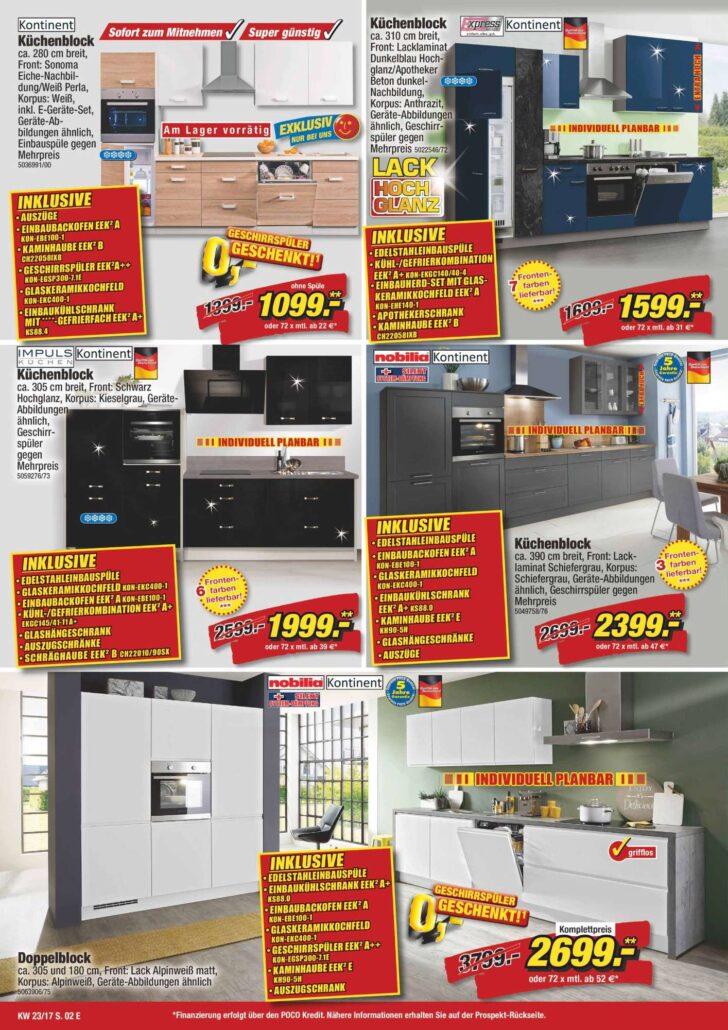 Medium Size of Poco Kchen Aktionswochen 03062017 16062017 Küche Big Sofa Betten Schlafzimmer Komplett Bett 140x200 Wohnzimmer Küchenzeile Poco