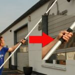 Profi Wasserteleskopstange 6 Meter Mit Wasserschlauch Und Sicherheitsfolie Fenster Fliegengitter Sichtschutz Rundes Aluminium Jemako Folien Für Maße Wohnzimmer Teleskopstange Fenster Putzen