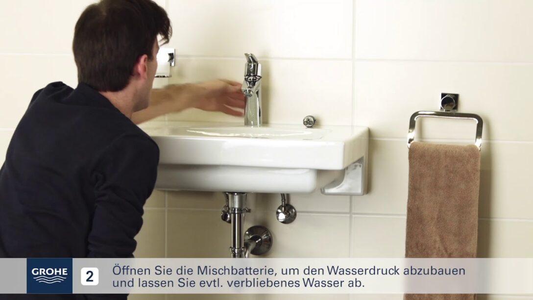 Large Size of Grohe Installationsvideo Austausch Der Kartusche Youtube Küche Wasserhahn Thermostat Dusche Bad Für Wandanschluss Wohnzimmer Grohe Wasserhahn
