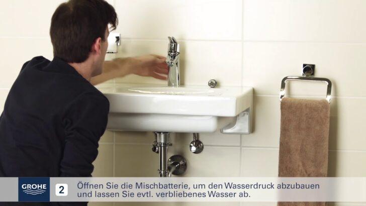Grohe Installationsvideo Austausch Der Kartusche Youtube Küche Wasserhahn Thermostat Dusche Bad Für Wandanschluss Wohnzimmer Grohe Wasserhahn