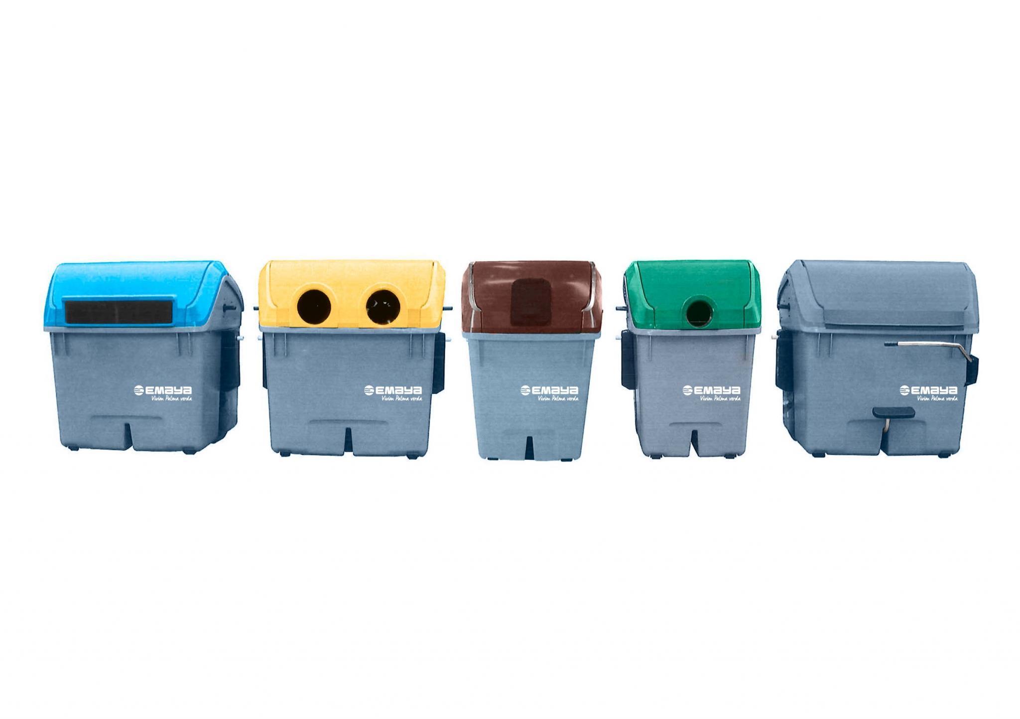 Full Size of Palma Bekommt Ab Ostern Neues Mllsystem Müllsystem Küche Wohnzimmer Müllsystem