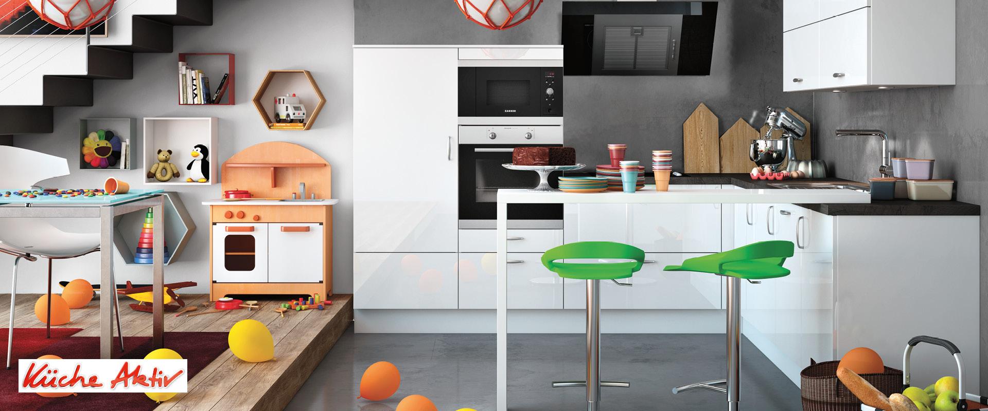Full Size of Küche Zweifarbig Kchen Individuell Gestalten Kche Aktiv In Geldern Wandpaneel Glas Winkel Einzelschränke Kräutertopf Led Panel Treteimer Einbauküche Weiss Wohnzimmer Küche Zweifarbig