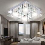 Deckenleuchte Chrom Glas Kchen Deckenlampe Wohnzimmer L B H Bad Küchen Regal Led Deckenleuchten Schlafzimmer Badezimmer Küche Modern Moderne Wohnzimmer Küchen Deckenleuchte