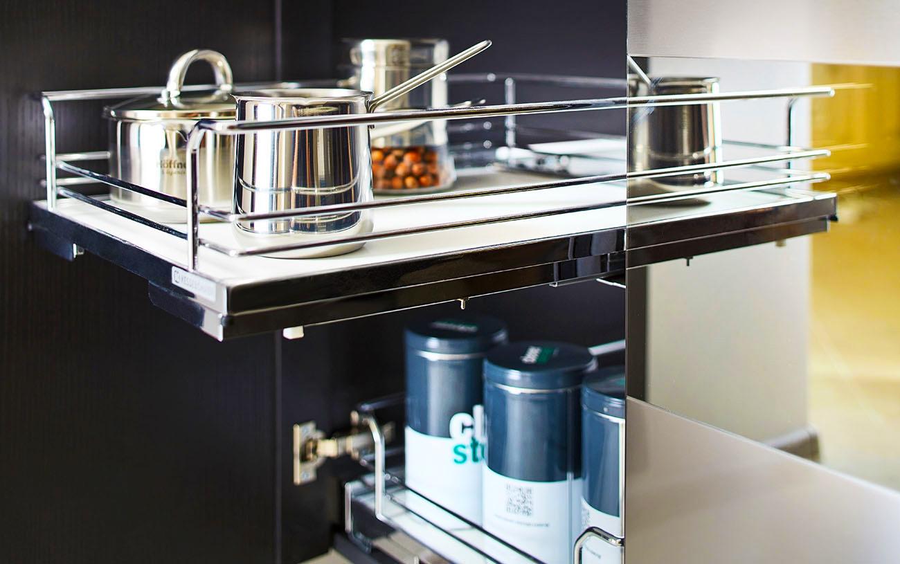 Full Size of Ariane Moderne Grifflose Einbaukche Mit Groer Kochinsel Eckküche Elektrogeräten Kräutertopf Küche Deckenleuchten Einbauküche Ohne Kühlschrank Sitzecke Wohnzimmer Küche Ohne Kühlschrank