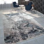 Teppich Wohnzimmer Modern Kurzflor Marmor Design Grau Deckenlampen Stehlampen Schrankwand Schrank Für Küche Hängelampe Großes Bild Sofa Kleines Beleuchtung Wohnzimmer Teppich Wohnzimmer Modern