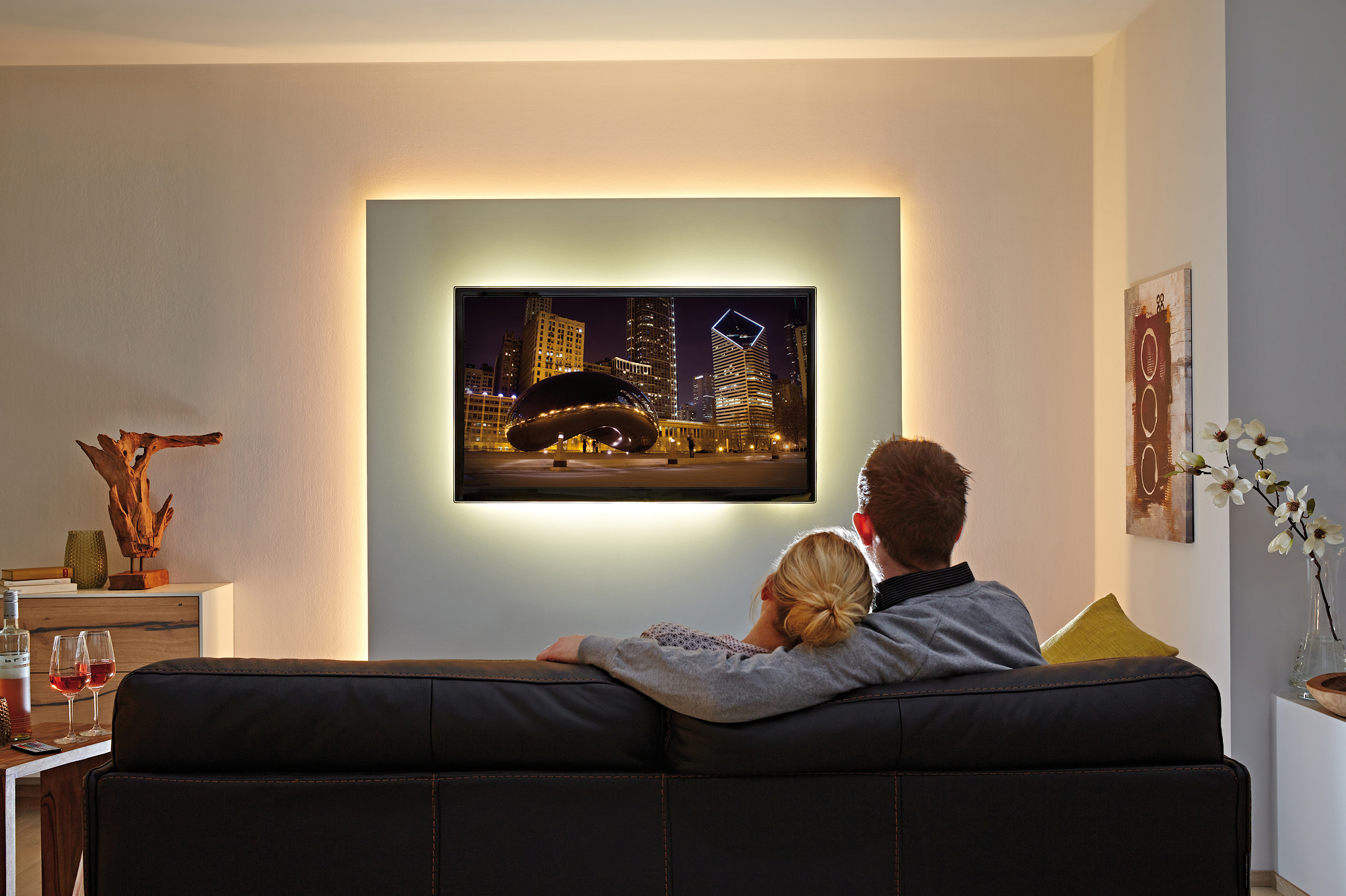 Full Size of Wohnzimmer Led Mit Wohnzimmerleuchten Dimmbar Spots Wieviel Watt Lampe Ebay Fernbedienung Planen Beleuchtung Leiste Amazon Streifen Indirekte Braun Wohnzimmer Wohnzimmer Led