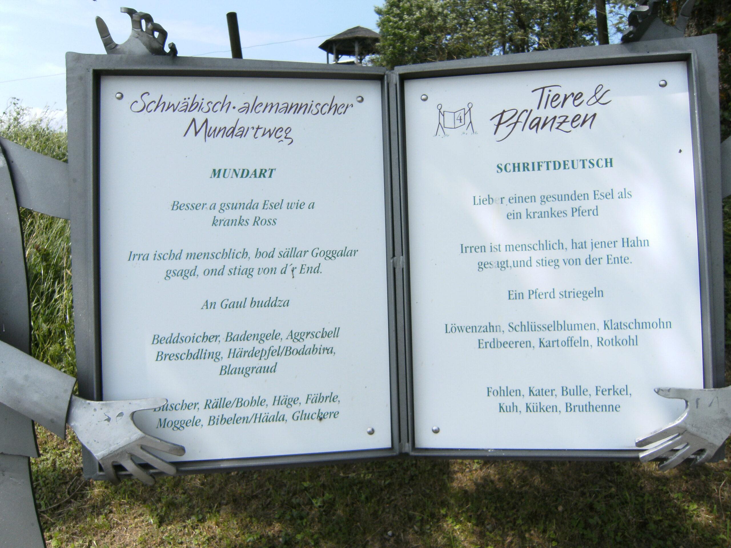 Full Size of Schwbisch Alemannischer Mundartweg Wikipedia Wohnzimmer Küchenkräutergarten