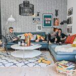 Großes Ecksofa Wohnzimmer Großes Ecksofa Familien Sofa Endlich Zusammener Und Mehr Platz Fr Jeden Alles Regal Bild Wohnzimmer Bett Bezug Mit Ottomane Garten