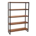 Regalwürfel Metall Industrielles Regal Holz Und Aristote Miliboo Bett Regale Weiß Wohnzimmer Regalwürfel Metall
