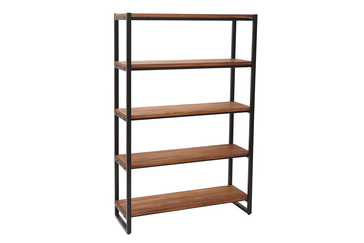 Full Size of Regalwürfel Metall Industrielles Regal Holz Und Aristote Miliboo Bett Regale Weiß Wohnzimmer Regalwürfel Metall