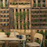 Paletten Zaun Wohnzimmer Paletten Zaun Ideen Fr Garten Das Kann Man Mit Europaletten Basteln Bett Aus Kaufen 140x200 Regal Regale