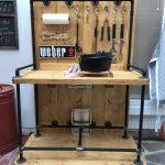 Küche Beistelltisch Weber Performer Deluxe Gbs Grill Behindertengerechte Wandpaneel Glas Unterschränke Komplette Edelstahlküche Kochinsel Arbeitsplatten Wohnzimmer Küche Beistelltisch