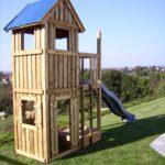 Spielturm Abverkauf Wohnzimmer Inselküche Abverkauf Spielturm Garten Bad Kinderspielturm