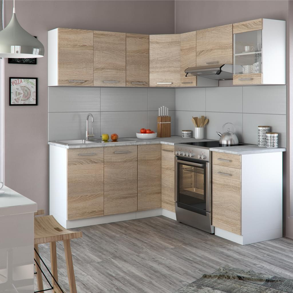 Full Size of Real Küchen Vicco Kche Rick L Form Kchenzeile Kchenblock Regal Wohnzimmer Real Küchen