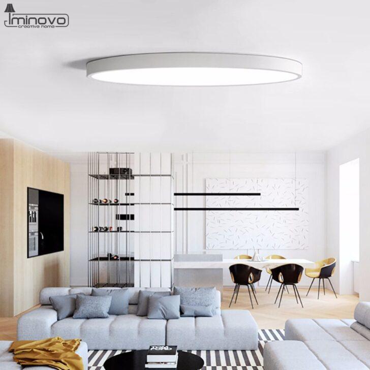 Medium Size of Deckenleuchte Led Küche Moderne Lampe Wohnzimmer Leuchte Schlafzimmer Günstige Mit E Geräten Deckenleuchten Läufer Zusammenstellen Barhocker Chesterfield Wohnzimmer Deckenleuchte Led Küche