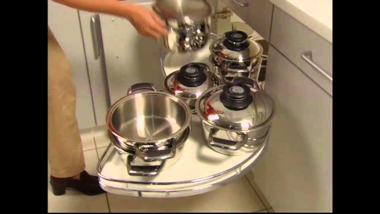 Full Size of Hfele Schwenkbarer Eckschrank Youtube Küche Küchen Regal Bad Schlafzimmer Wohnzimmer Küchen Eckschrank Rondell