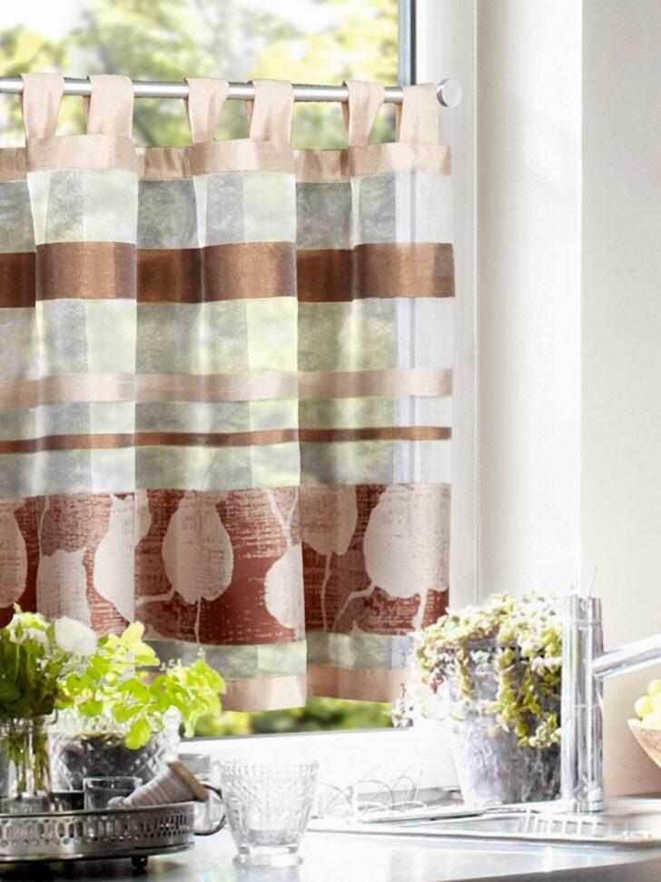 Medium Size of Küchenvorhang Kchengardine Schlaufenpanneauglamour Naturfarben Gardinen Wohnzimmer Küchenvorhang