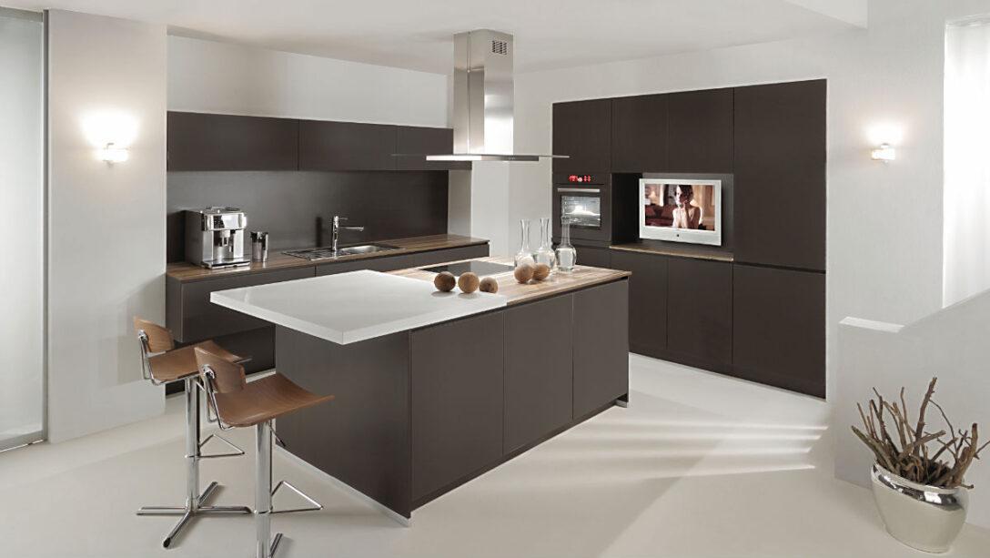 Large Size of Alno Küchen Star Satina Matt Kche Mit Elektrogerten Und Einbausple Küche Regal Wohnzimmer Alno Küchen