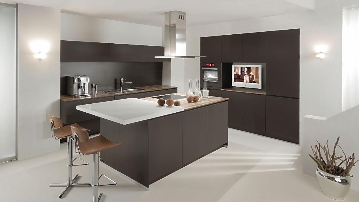 Full Size of Alno Küchen Star Satina Matt Kche Mit Elektrogerten Und Einbausple Küche Regal Wohnzimmer Alno Küchen
